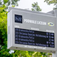 Real time full-colour LEDRGB passenger information display board