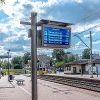 TFT LCD Platform real-time Passenger Information Display boards