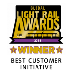 Global light rail awards - Best customer initiative