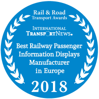 Best Railway Passenger Information Displays Manufacturer in Europe 2018