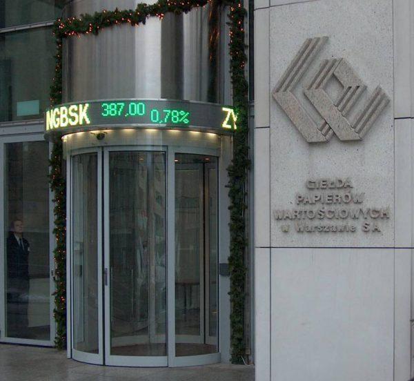 Stock market displays