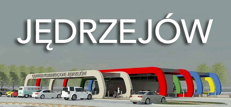 New passenger information boards for Jędrzejów town, Poland