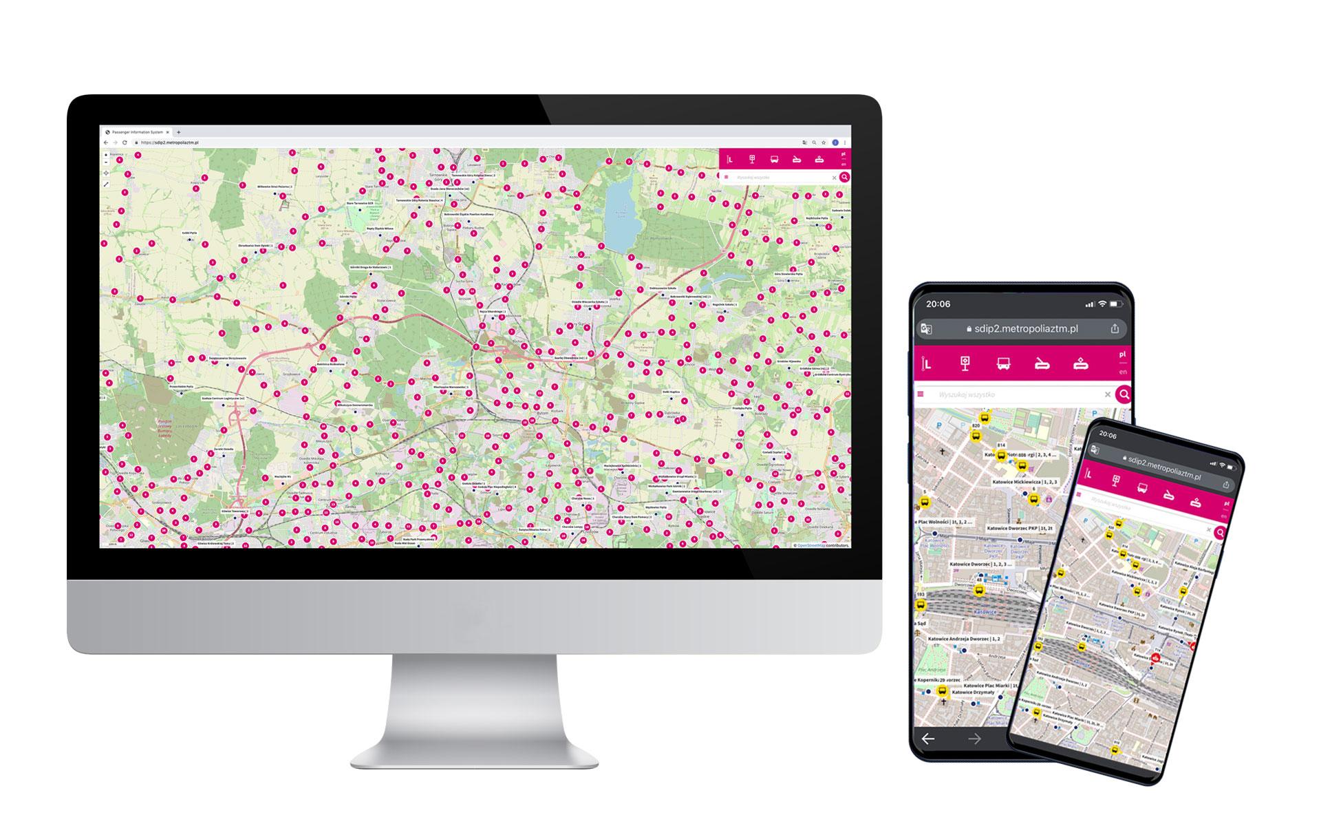 Portal pasażera System Dynamicznej Informacji Pasażerskiej