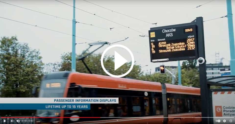 Passenger Information Boards for Metropolis