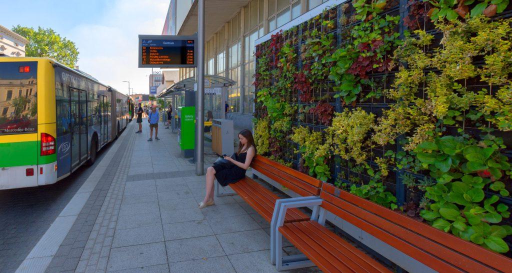 Tablice wyświetlacze dynamicznej informacji pasażerskiej LED RGB, Nysa 2020, LED RGB Passenger Information Displays, the city of Zielona Gora